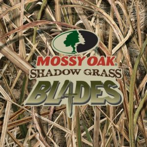 Mossy Oak Shadow Grass Blades pattern game and duck call parts and supplies